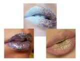 Макияж на Новый год 2018: как сделать блестящий макияж губ (эффект glitter lips)