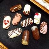 Шоколадный маникюр: не только еда